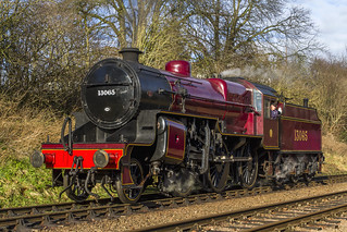 LMS Hughes Class 5MT 'Crab' Mogul No. 13065 | by Kev Gregory
