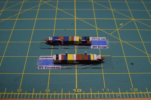 1/2400 scale container ships | by whenimaginationfails