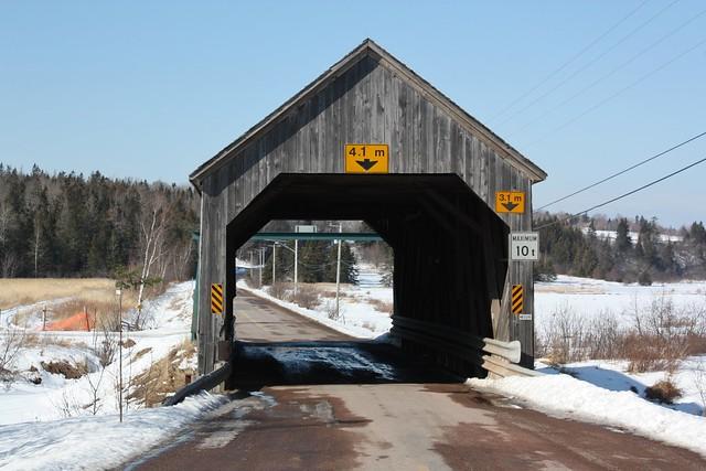 Boudreau Covered Bridge- Memramcook, New Brunswick