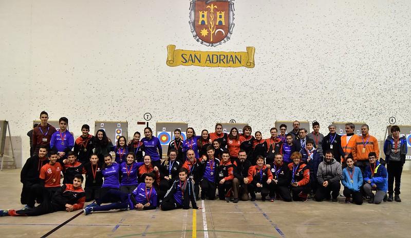 IV Tirada y final de los JDN de SALA-San Adrián 13-14 Enero 2018