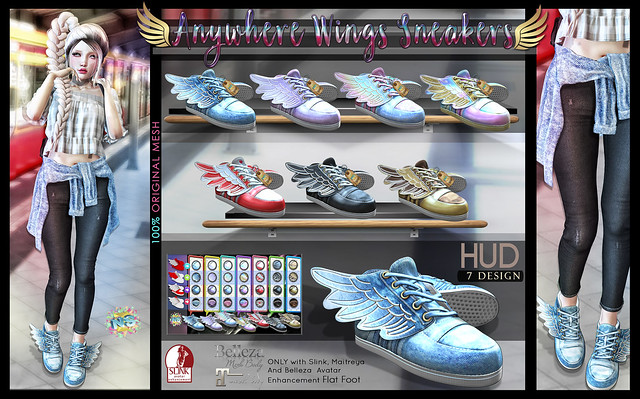 NS::  Anywhere Wings Sneakers