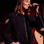 Tue, 05/12/2017 - 6:07am - Brandi Carlile and her band (the twins, plus drums and strings) play for lucky WFUV Marquee Members at Rockwood Music Hall in New York City, 12/5/18. Hosted by Rita Houston. Photo by Gus Philippas/WFUV.