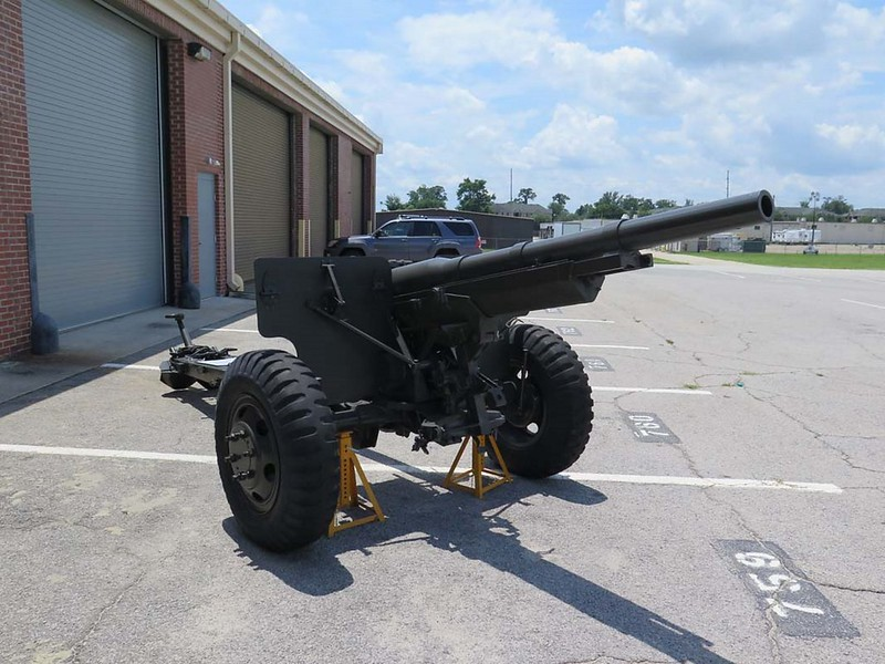 US 3'' M1897A2 Field Gun 1
