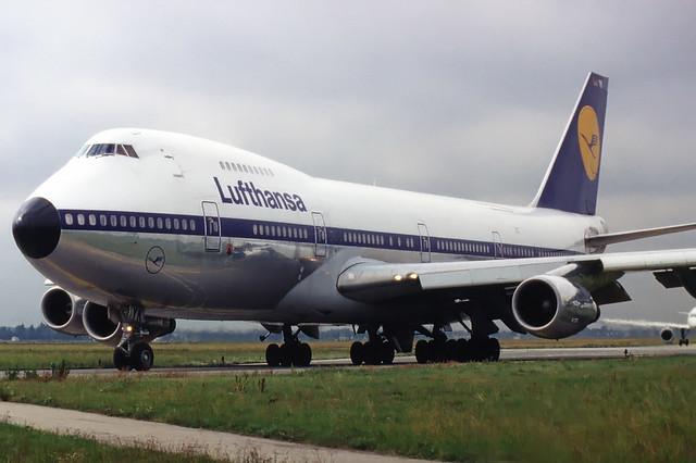 Lufthansa Boeing 747-200 D-ABYK