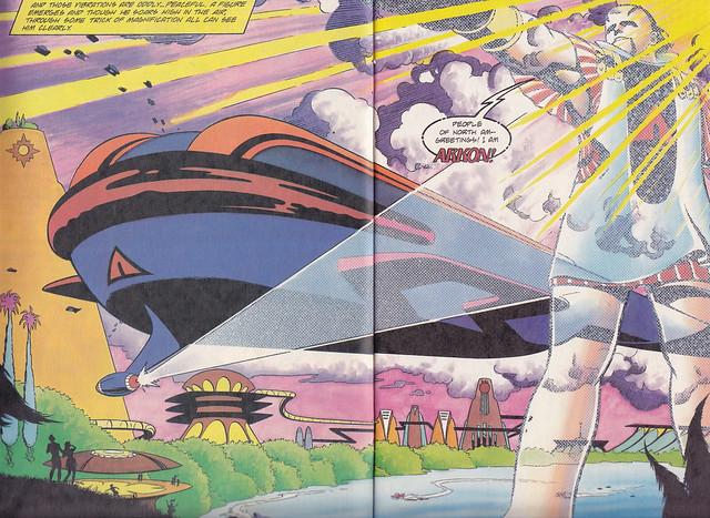 Magnus Robot Fighter & Nexus #1 /page 2 + 3
