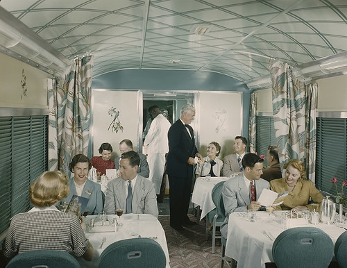 [Southern Pacific Sunset Limited Diner, Budd Company] | by SMU Libraries Digital Collections