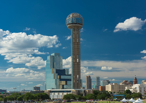 Dallas Skyline Reunion Tower | by Daxis