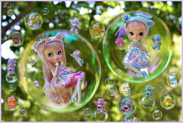 Bubbles party!!!