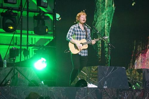 Ed Sheeran @ Wembley 40 | by flamesworddragon