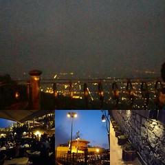 Islamabad mountain night view #TheMonalRestaurant #PakistaniFood #Islamabad #Pakistan