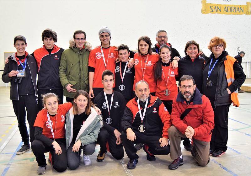 Campeonato Navarro Sala- 14 de enero San Adrian