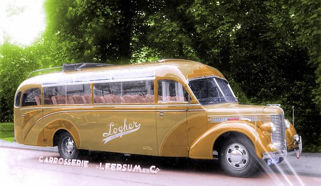 Diamond T Bus, bodywork: