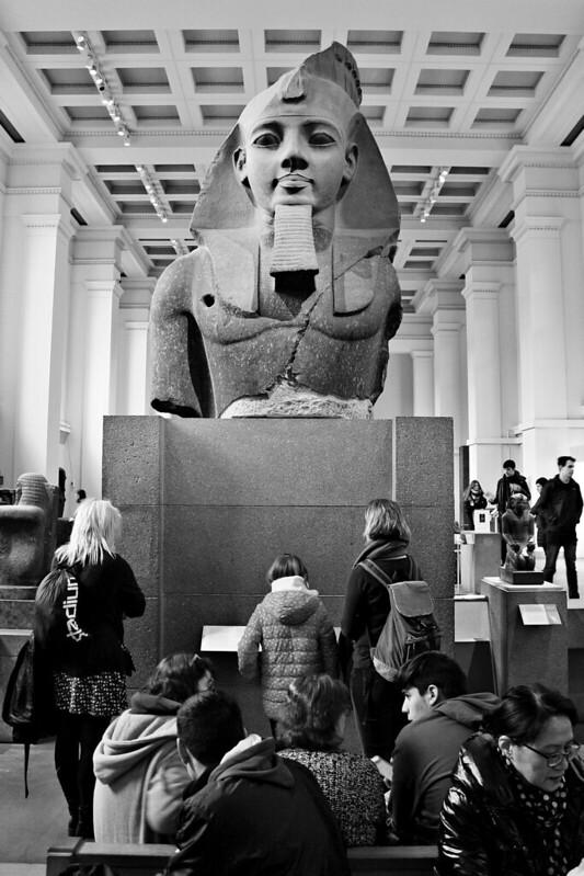 Bust of Ramses II in British Museum