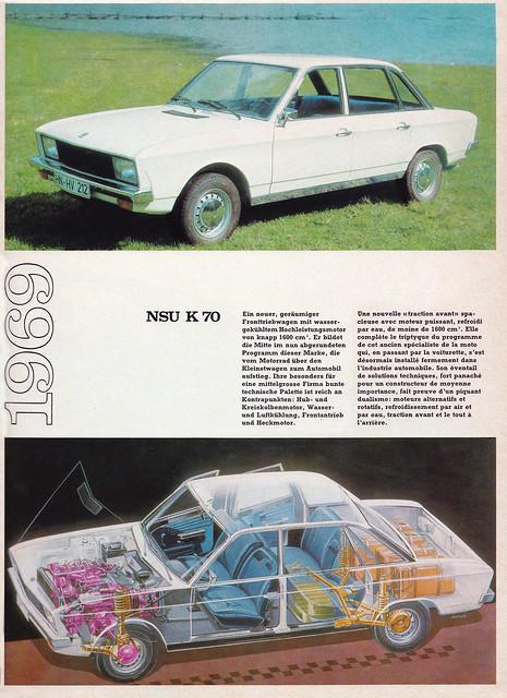 1969 NSU K70