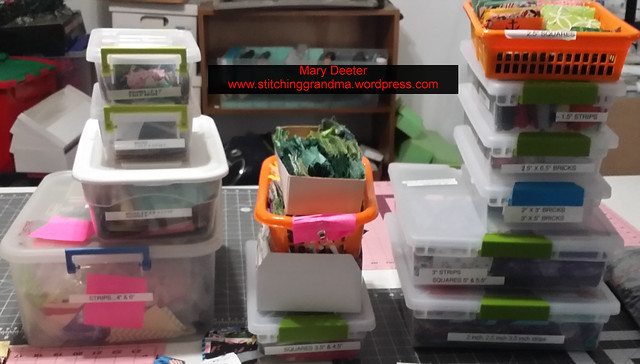 Scrap Management Storage containers