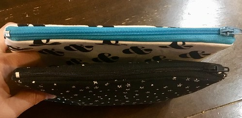 Zipper pouches - sewing class | by Beth77