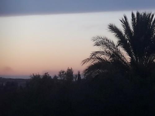 sunset nature tunisia mesjedaissa