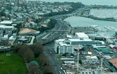 City from Sky Tower - Auckland, NZ