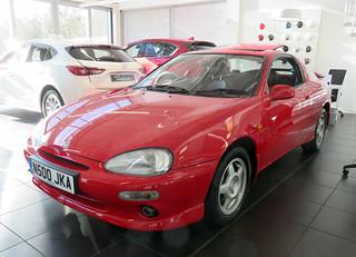1995 Mazda MX-3 V6   by Spottedlaurel