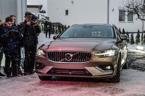 2019 Volvo V60 Reveal Lidingö, Sweden Photo