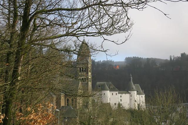 Clervaux-L'église et le château