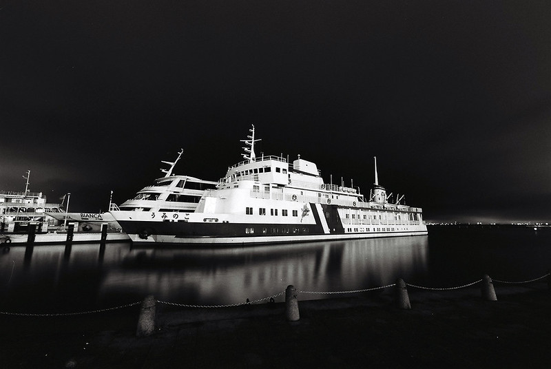 琵琶湖の客船