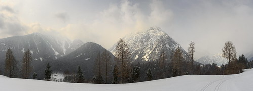 p2277163ap2277166p1ma3 koaxial view landscape nature clouds mist fog snow winter 2018 berge mountains achensee trees