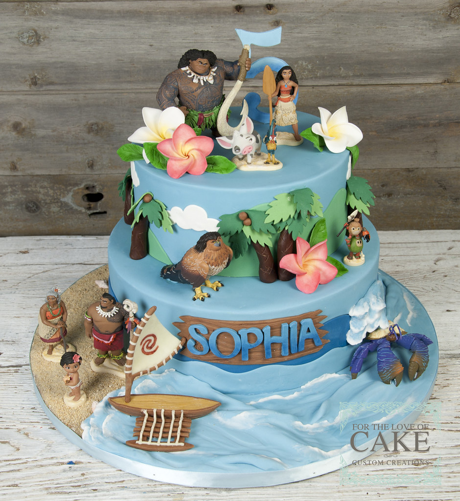 Super Bc4685 Moana Maui Disney Birthday Cake Toronto For The Love Of Personalised Birthday Cards Paralily Jamesorg