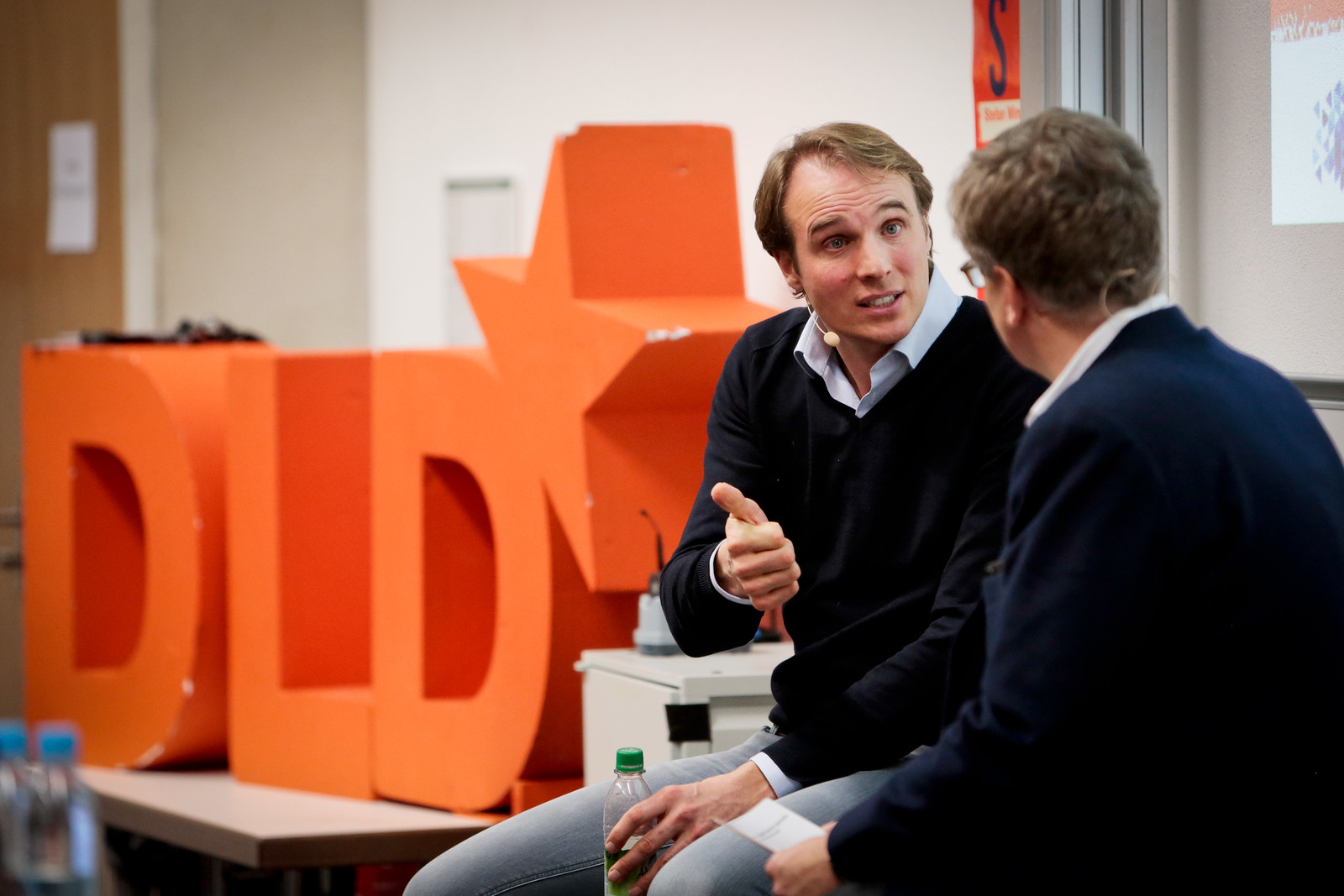 DLD Campus FIRE SIDE CHAT with Marc Samwer and Stefan Winners