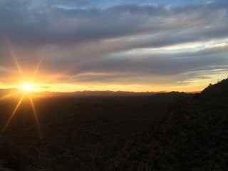 Tucson Gilbert Ray Sunset from West Gate Pass Rd | by Pierre Yeremian