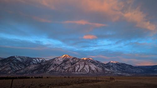 landscape sunrise minden nevada unitedstates us mountain sky