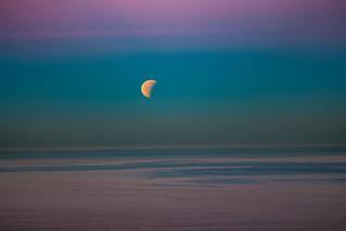 Moonset | by danielafort