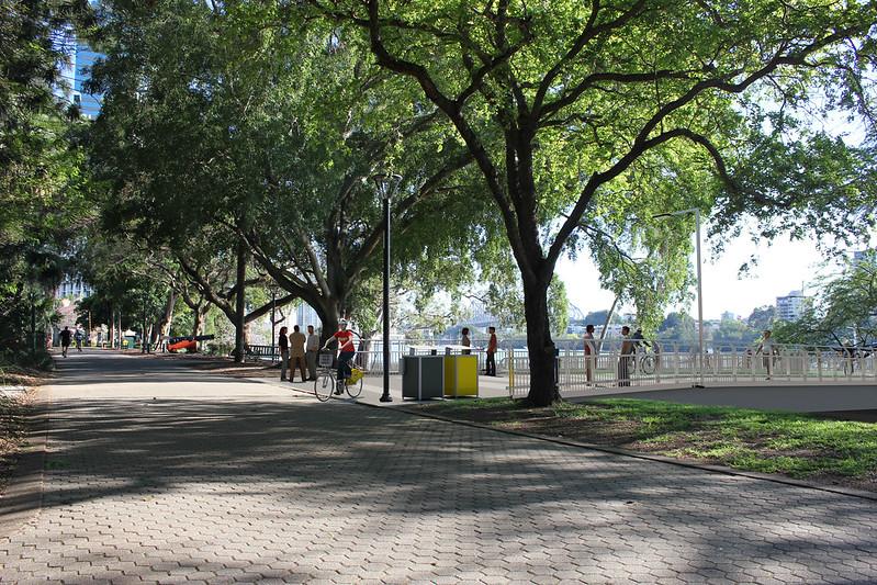 Alice Street-Edward St (Botanic Gardens) Riverwalk project - Brisbane