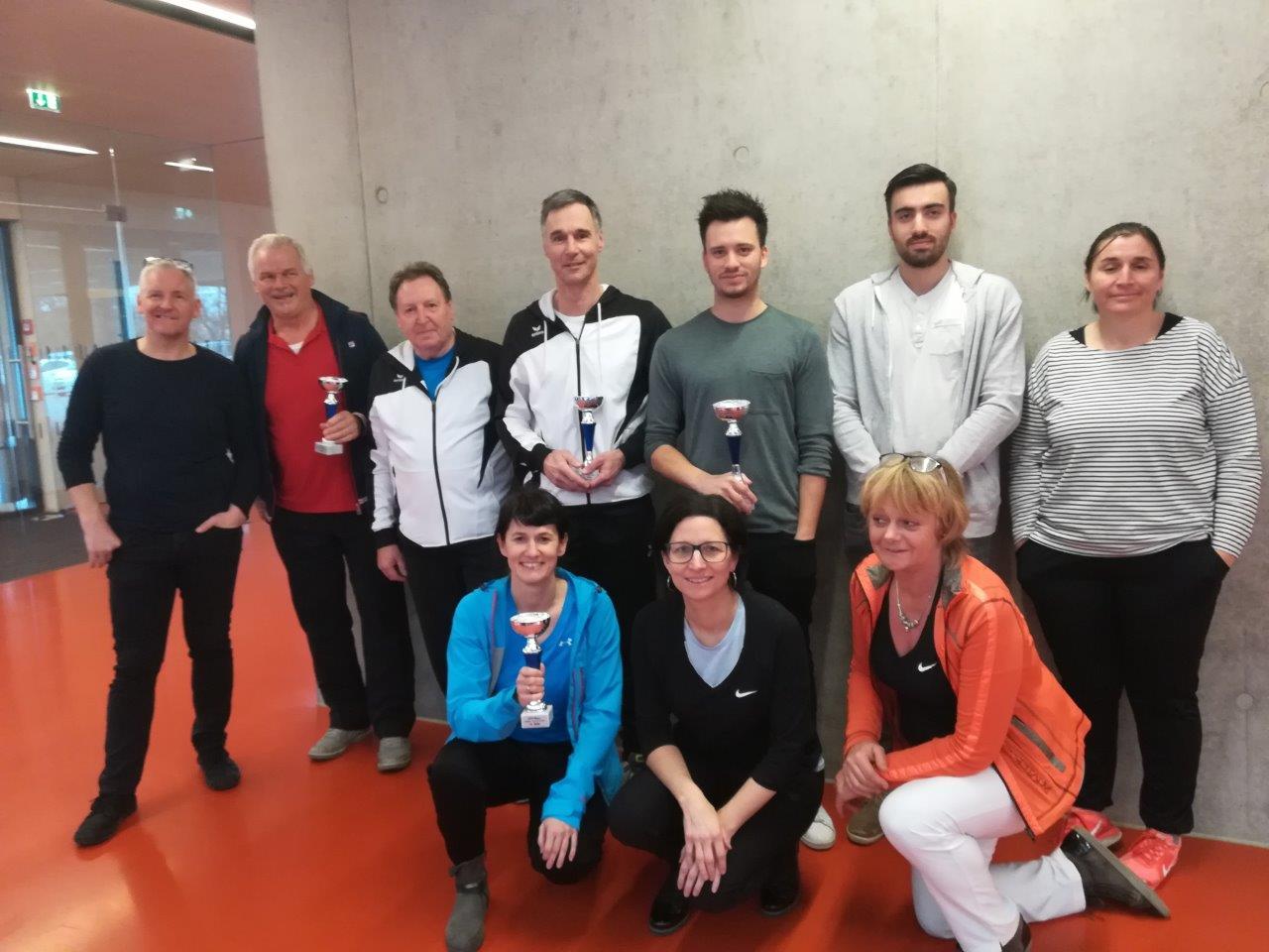 Tischtennis-Hobbyturnier 24.02.2018