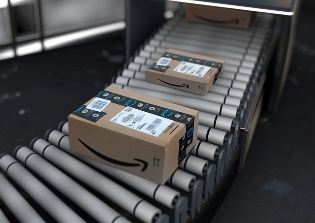 Paketband Online Handel Amazon Box - Zoom