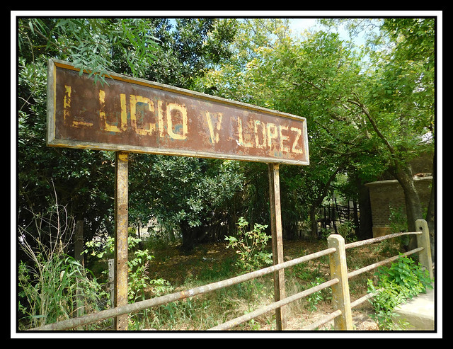 Estación de trenes Lucio V. López