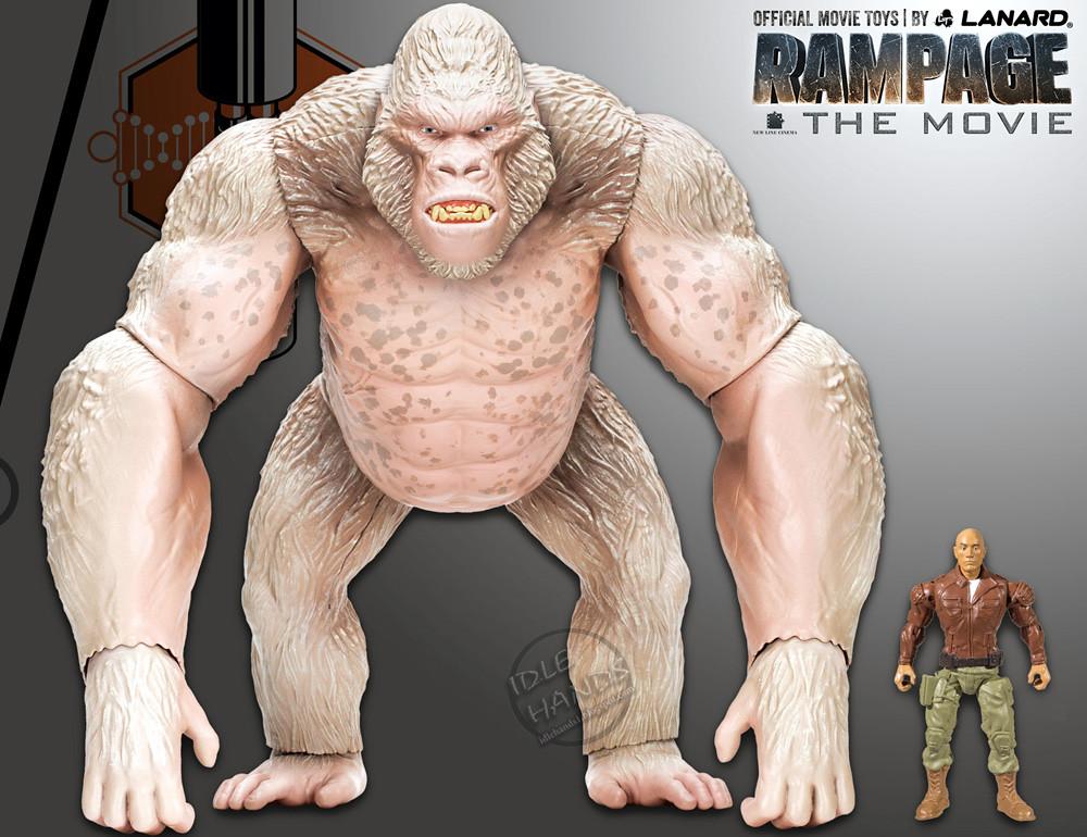 Lanard Rampage Movie Toys 16 Inch Mega George Figure 004 Flickr
