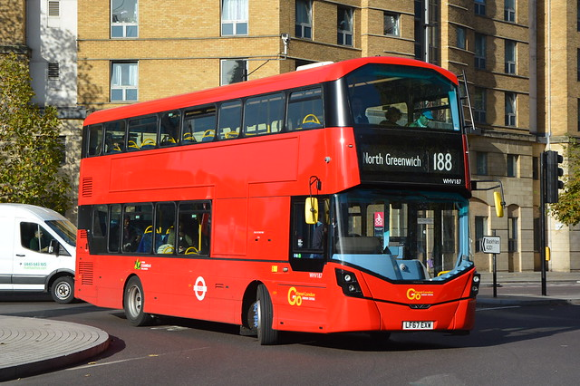LF67 EXW (WHV187) Go-Ahead London Central