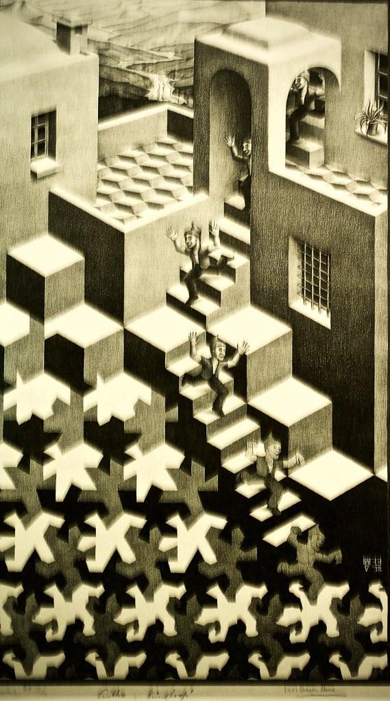 Cycle 1938 Maurits Cornelis Escher 1898 1972 Flickr