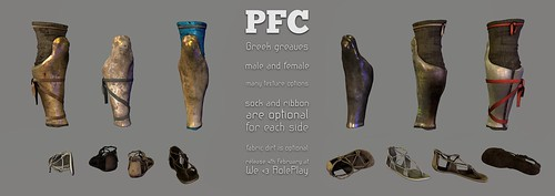 PFC ~ Greek Greaves