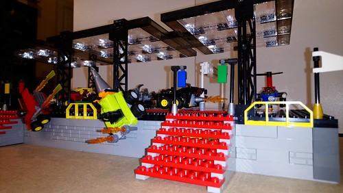 Attraction du parc Brick World utilisé la gamme Mighty Micro   by Tofe59
