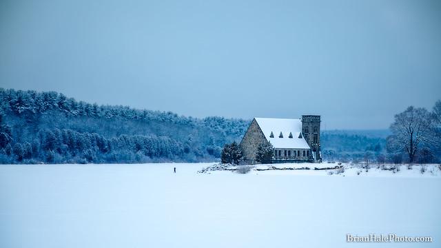 photographer on thin ice
