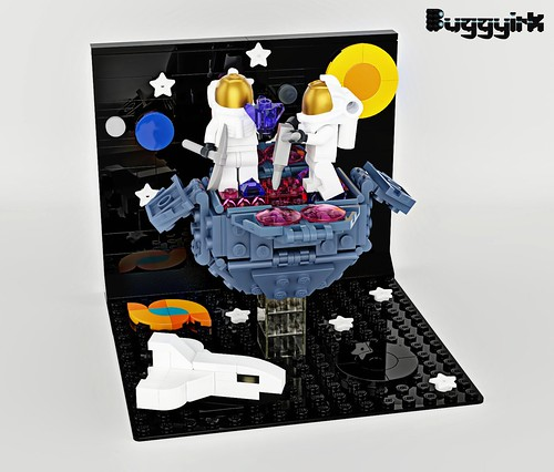 2 - LEGO Ideas - The First Asteroid Mine
