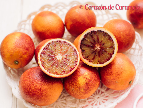 Bizcocho de naranjas sanguinas   by Corazón de Caramelo