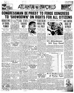 Atlanta paper highlights DePriest Jim Crow resolution: 1934 | by Washington Area Spark