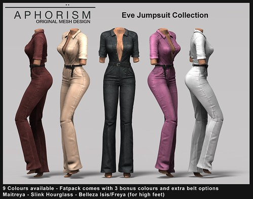 !APHORISM! Eve Jumpsuit Preview | by Rucy Byron (!APHORISM!)