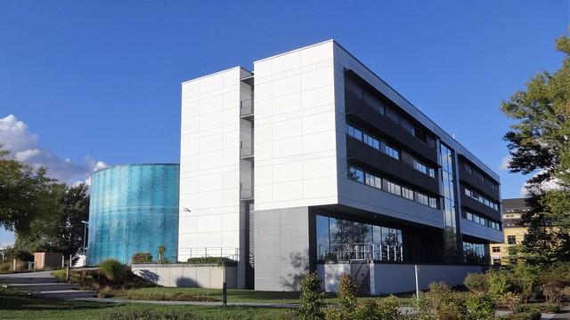 2005/06 Magdeburg Trainingszentrum Fraunhofer-Institut für Fabrikbetrieb (VDTC) von ACM Architektenkontor Elbe-km 328 Sarajevo-Ufer/Werner-Heisenberg-Straße 1 in 39106 Alte Neustadt