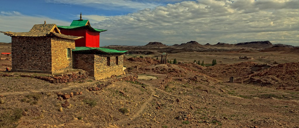 Ongiin Khiid | On the river Ongi in Saïkhan-Ovoo district, M