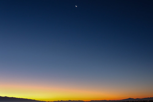 vankovision nature landscape sunrise moonset tucson