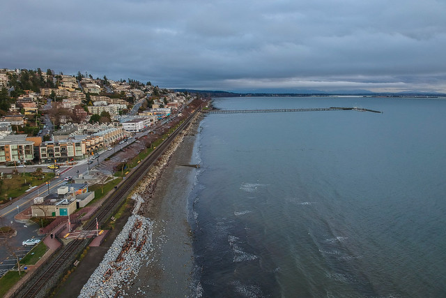White Rock from Above